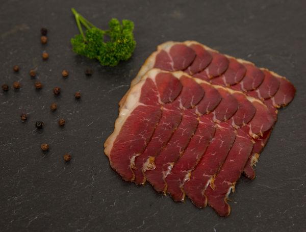 Image of Wildschwein Rohschinken geschnitten, 100g