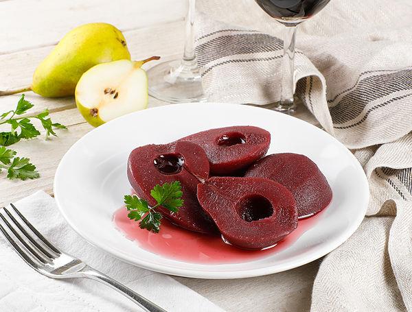 Image of Birnen in Rotweinsauce gekocht, 300g