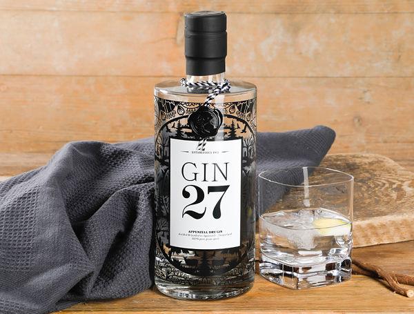Image of Appenzeller Gin 27, 700ml