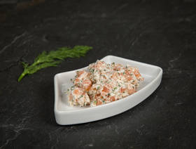 Tartare saumon fumé - cottage cheese, 130g