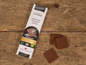 Bio Choco Carré Vollmilch mit Champagnerfüllung Fairtrade, 85g