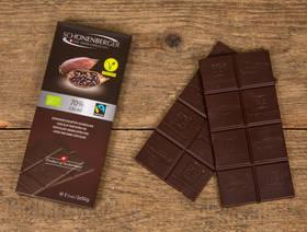 Bio Schokolade Edelbitter 70% Cacao, 2x50g