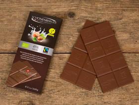 Bio Schokolade mit Reismilch & Haselnüssen Fairtrade, 2x50g