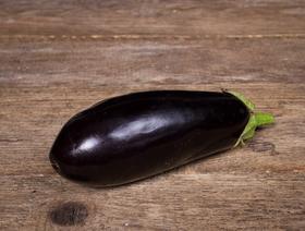 Bio Aubergine, schwarz, ca. 200-300g