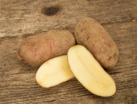 Bio Kartoffeln Désirée, rot, ungewaschen