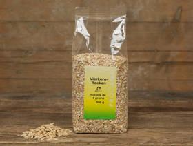 Bio Flocons de 4 grains, 500g