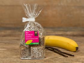 Bio Rohkost Guetzli Bananen-Chia, vegan
