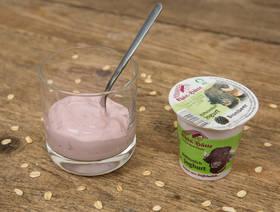 Yogourt bio au lait de bufflonne, mûre, 125g