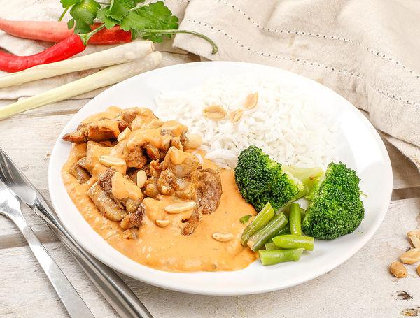 Image of Thai Curry mit Poulet und Reis, 500g