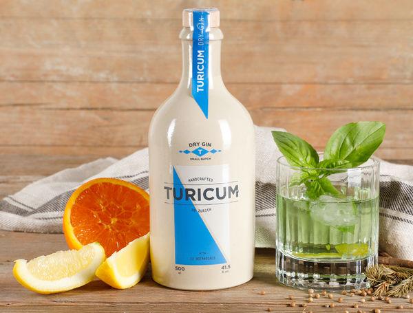 Turicum Dry Gin von Better Taste bei Farmy.ch online einkaufen.