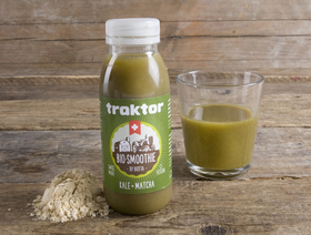 Traktor Bio-Smoothie Kale-Matcha, 250ml