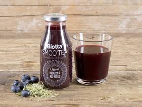 Biotta Bio-Smoo'tea - Heidelbeere & Alpenkräuter, 250ml