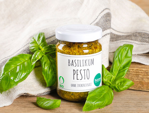 Image of Bio Basilikum-Pesto, 130g