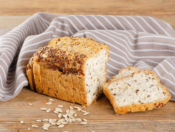 Image of Sonnenblumenkern-Brot glutenfrei, geschnitten, ca. 330g