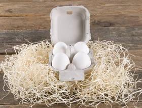 Schweizer Freiland Eier, 4 Stück