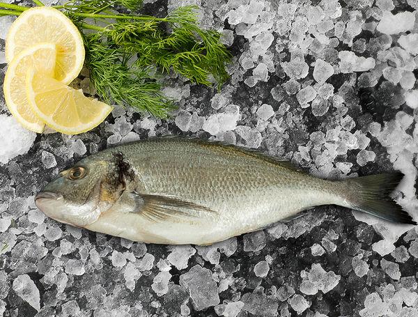 Image of Seebrasse, ausgenommen und geschuppt, ca. 700g