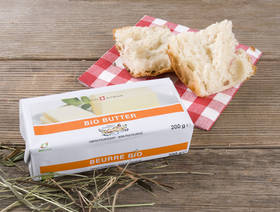 Organic Butter unpasteurized, 200g