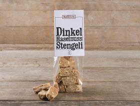 Bio Dinkel-Haselnuss Stengeli, 100g