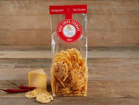 Schweizer Käse Chips Chili Culinarium, 100g