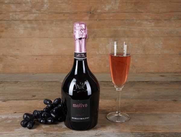 Image of Spumante Rosé Motivo Extra Dry, 75cl