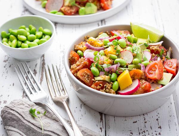 Image of Edamame Salat mit Mango