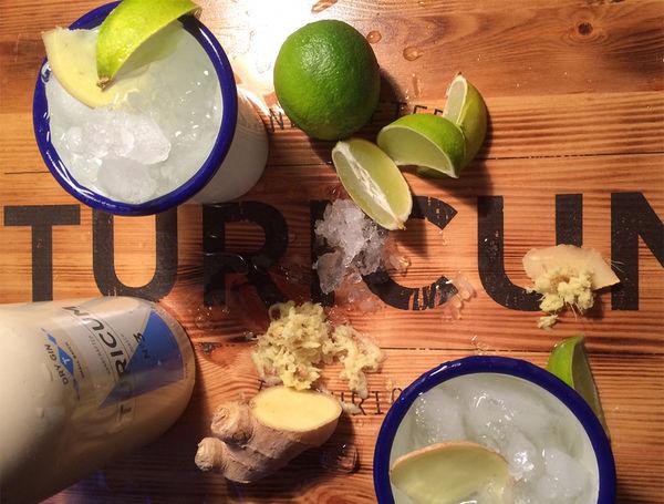 Der Original Züri Mule mit Turicum Gin.