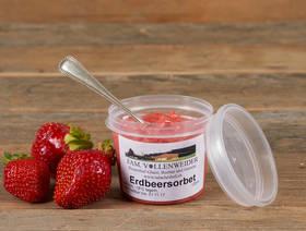 Erdbeersorbet, 120ml