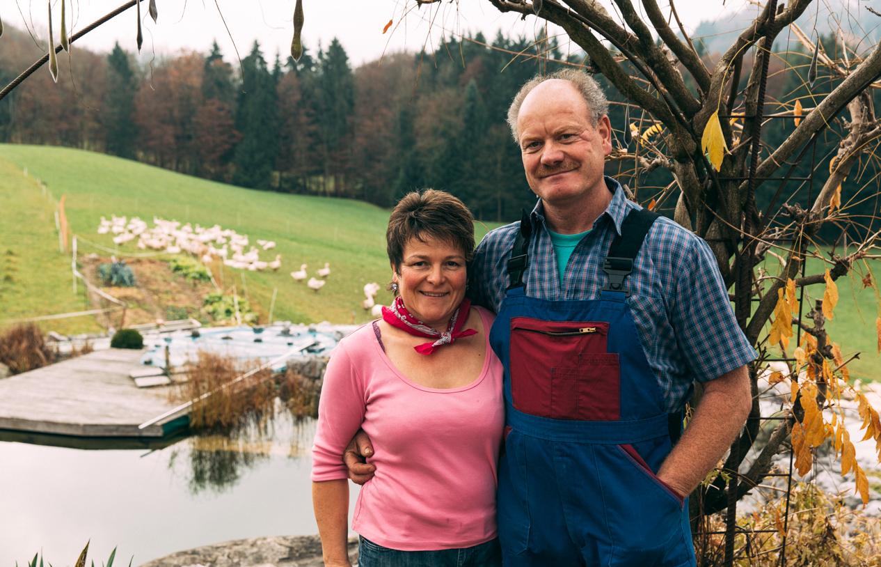 Ueli und Esther Niederhauser