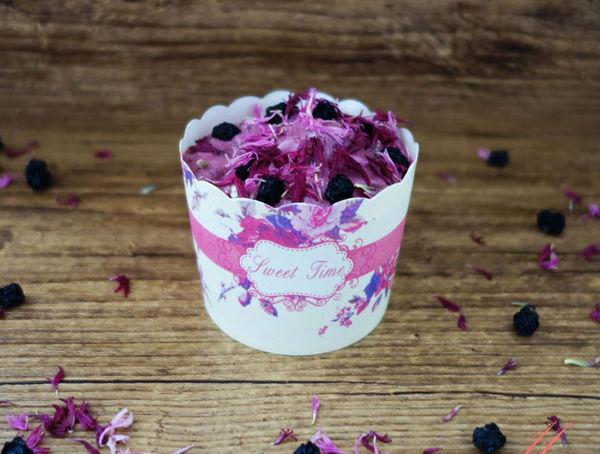 Frozen Joghurt mit Heidelbeeren und Camu Camu